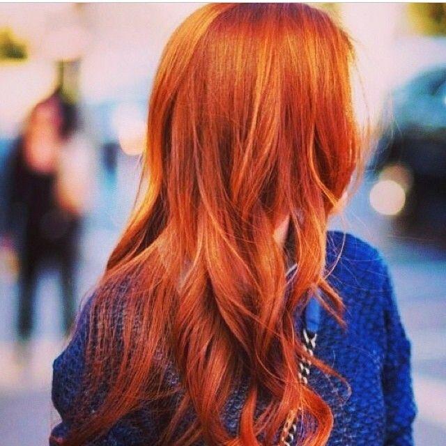 Wunderschöne Rote Haare Mit Extensions Da Leuchtet Der Kupferkopf