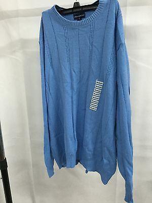 John Ashford Blue Casual Longsleeve Top Sweater, Size Medium