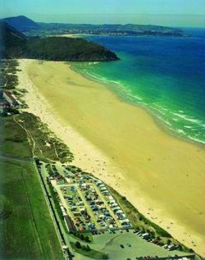 Camping Playa De Berria Playa
