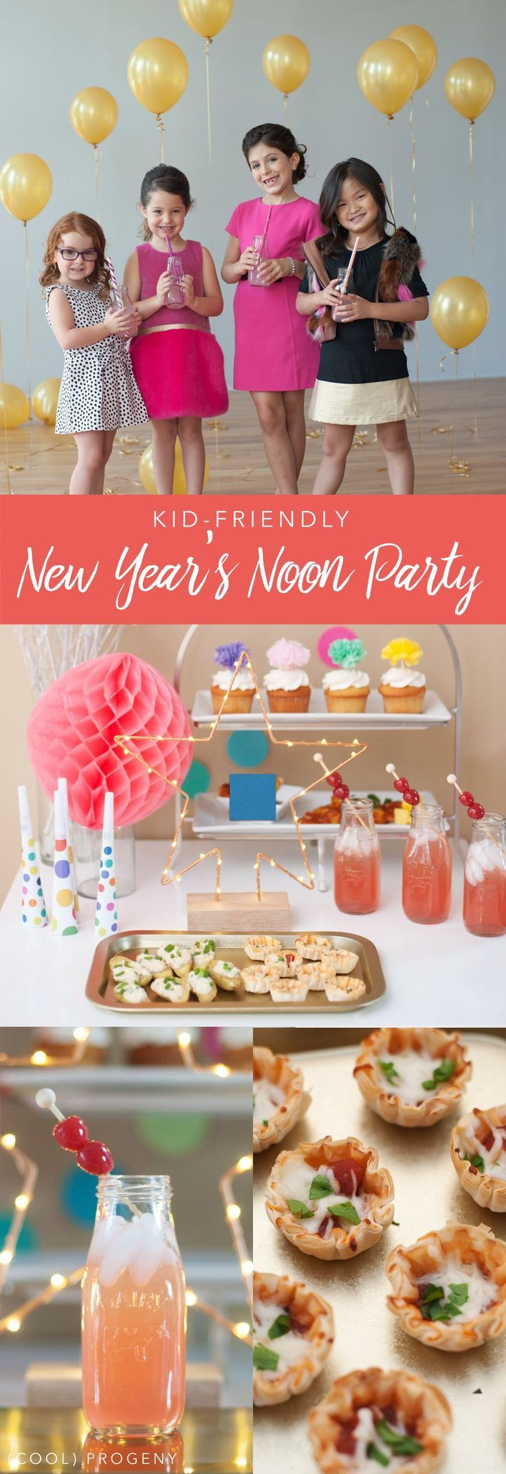 kidfriendly new year's noon party Kids new years eve