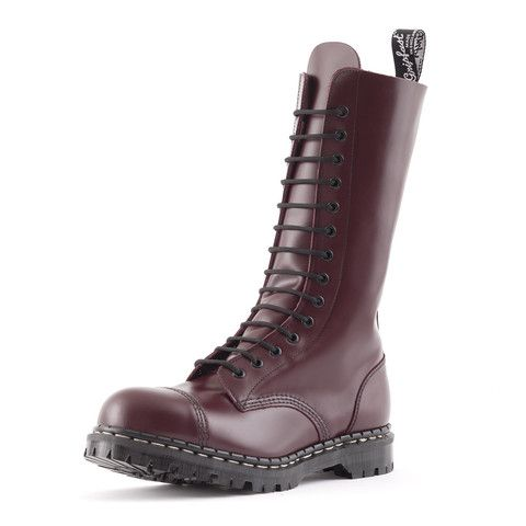 Products | Boots, Steel toe, Oxblood
