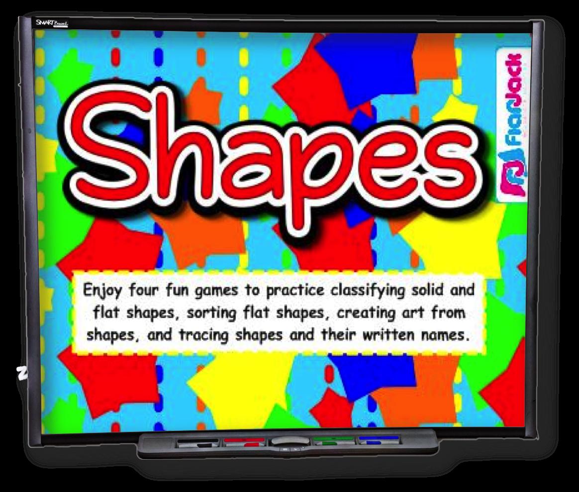 Shapes Smart Board Game