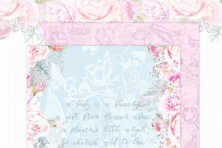 Baby Pink Paster Paper Pack