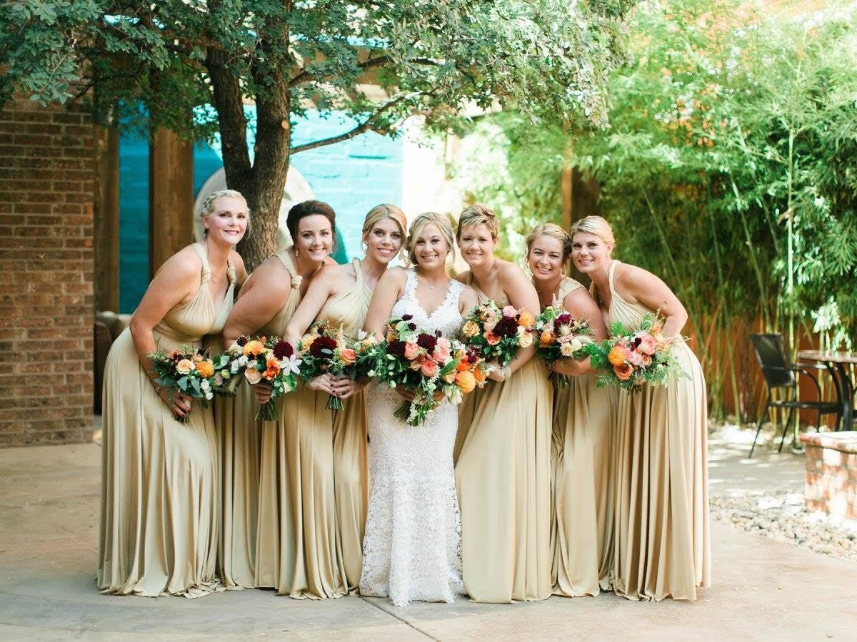 Champagne gold twobirds bridesmaid multiway convertible wrap champagne gold twobirds bridesmaid multiway convertible wrap dresses ombrellifo Image collections