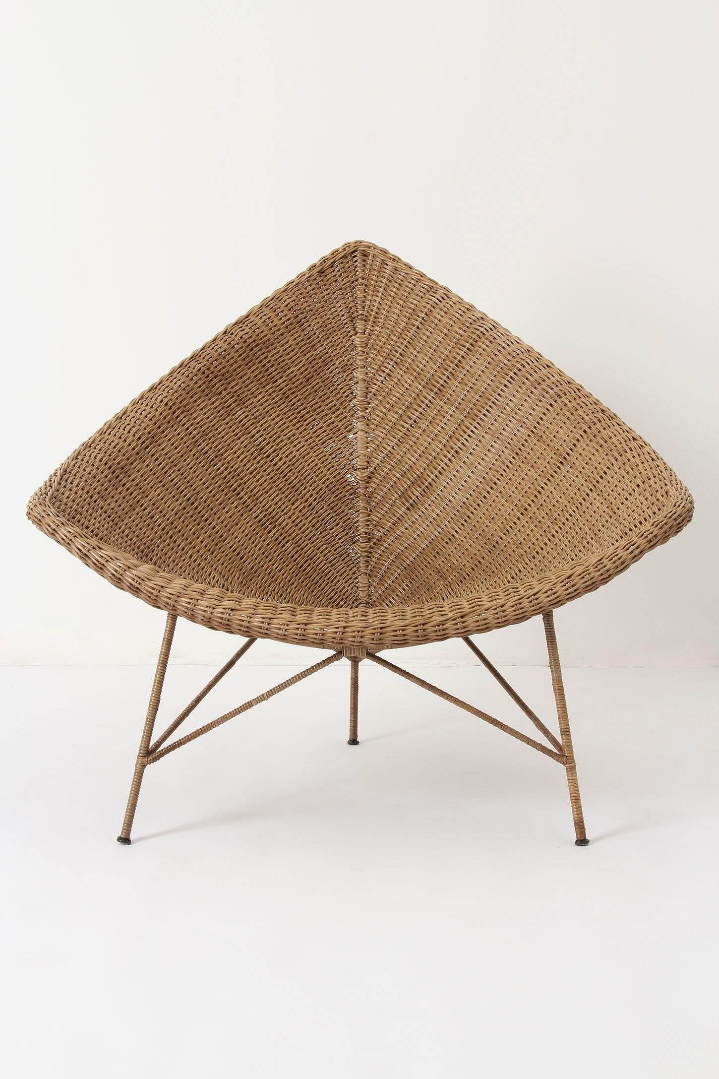 Anthropologie Naida Chair | MUEBLES FIBRAS NATURALES | Pinterest ...