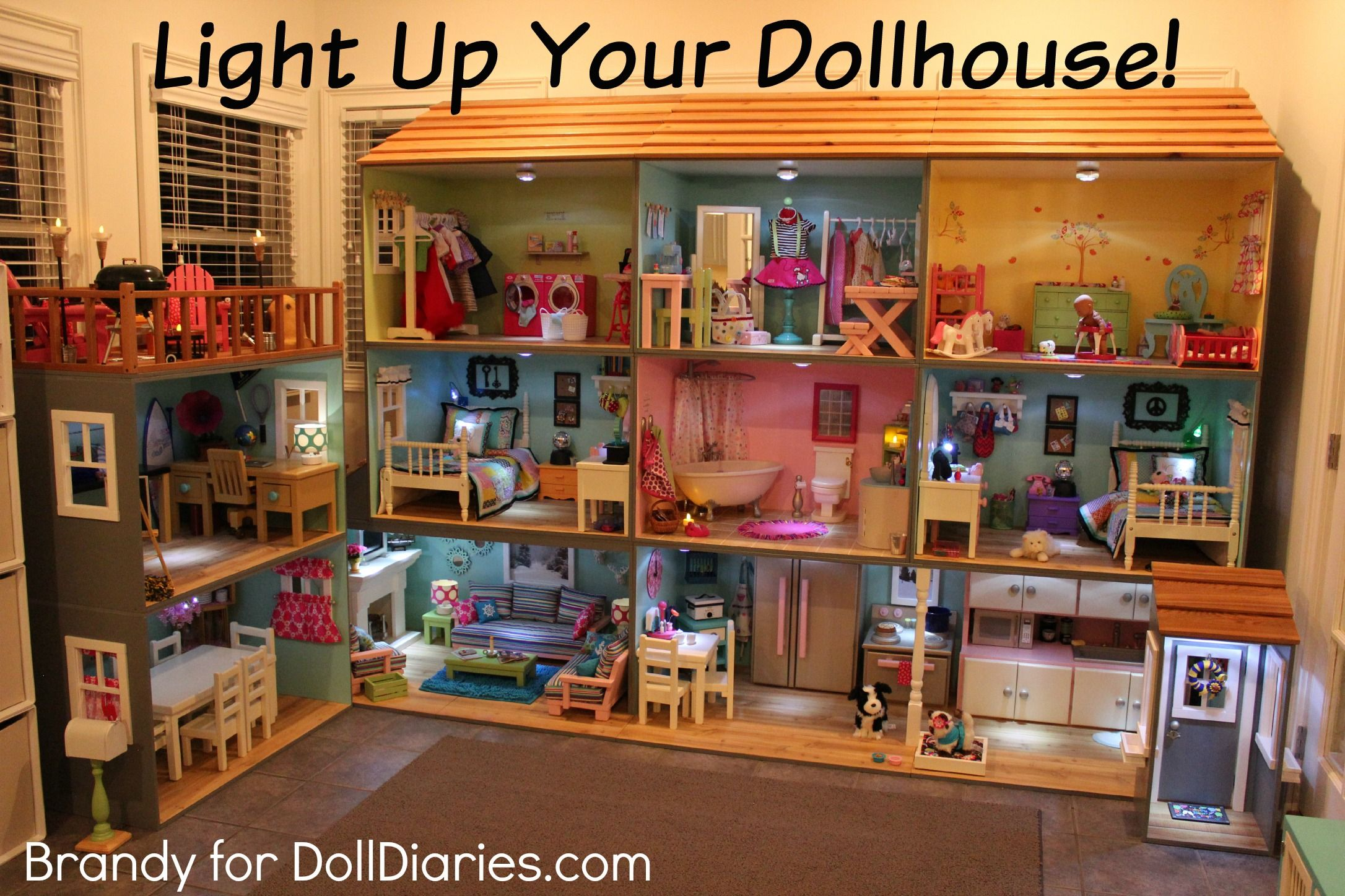 Light Up Your Dollhouse! | Doll Diaries