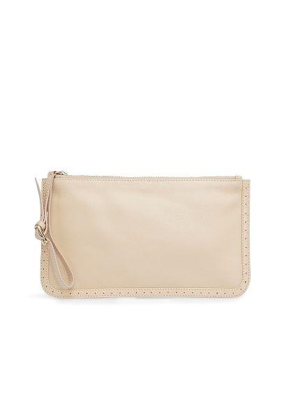 f257df3f62e Leather wristlet cosmetic bag - Woman in 2019 | Mango Wish List ...