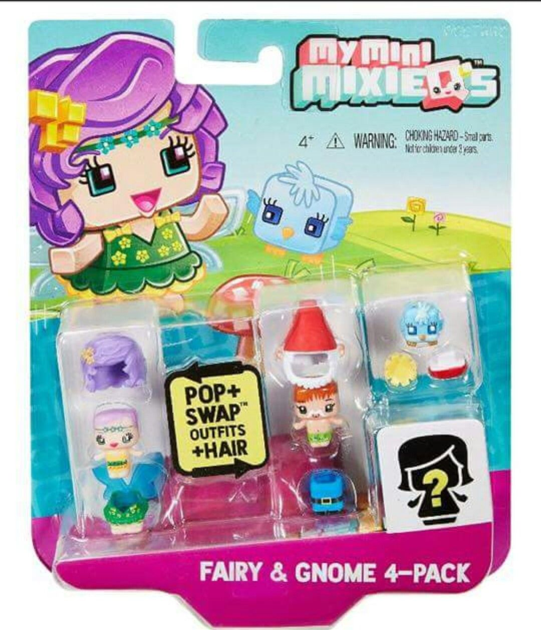 My Mini Mixieqs 4 Pack Fairy Gnome