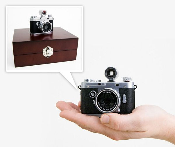 According To Photojojo The Minox Was A Spy Camera Used By The Cia Used In The 40s And By James Bond In The Movies This Is A Mini Digital Version That