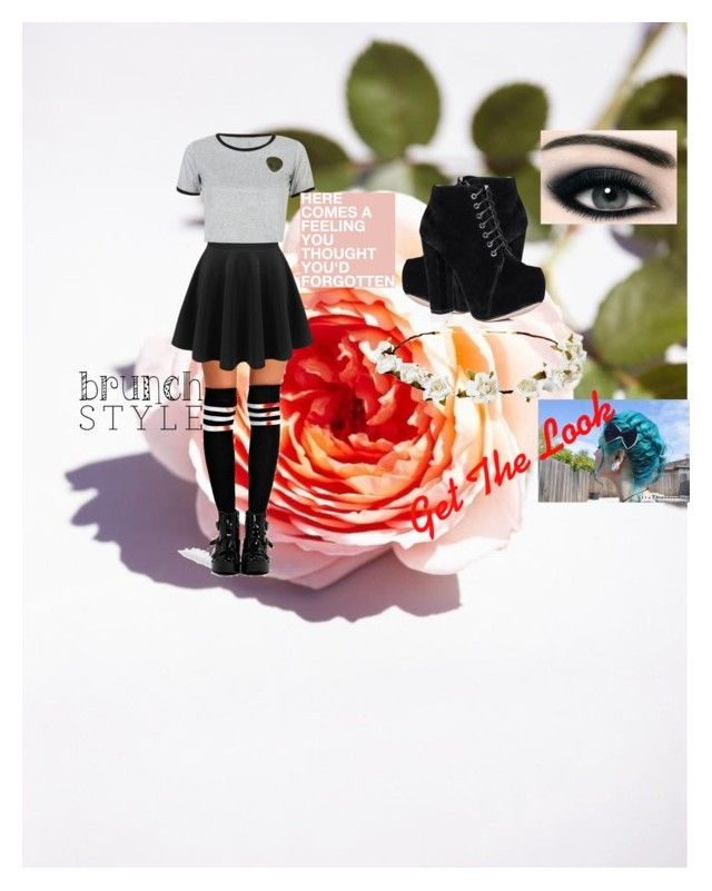 """""""Spring Day Shopping"""" by angleighgab on Polyvore featuring Cult Gaia, Boohoo, WithChic and AliensUnderstandMe"""