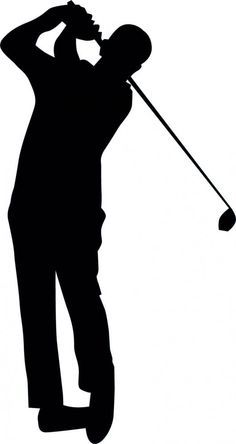 Pin By Jeannette Devader On Sports Painting Silhouette Golf Art Golf