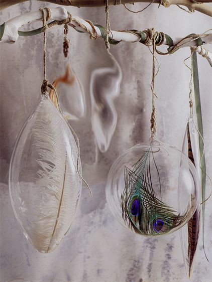 Awesome Roost Floating Feather Ornaments Images
