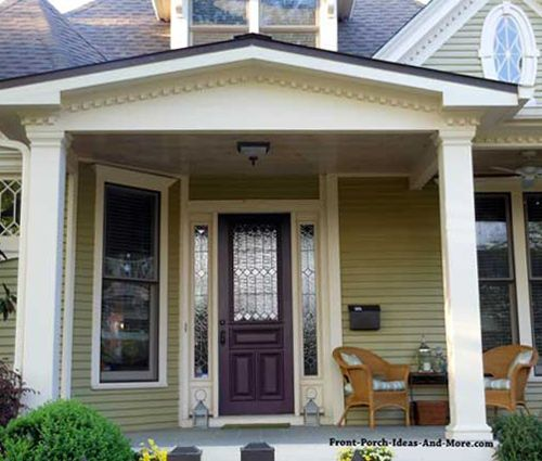 Beau Nice Gable Style Roof Over This Beautiful Porch. Found On Front Porch Ideas