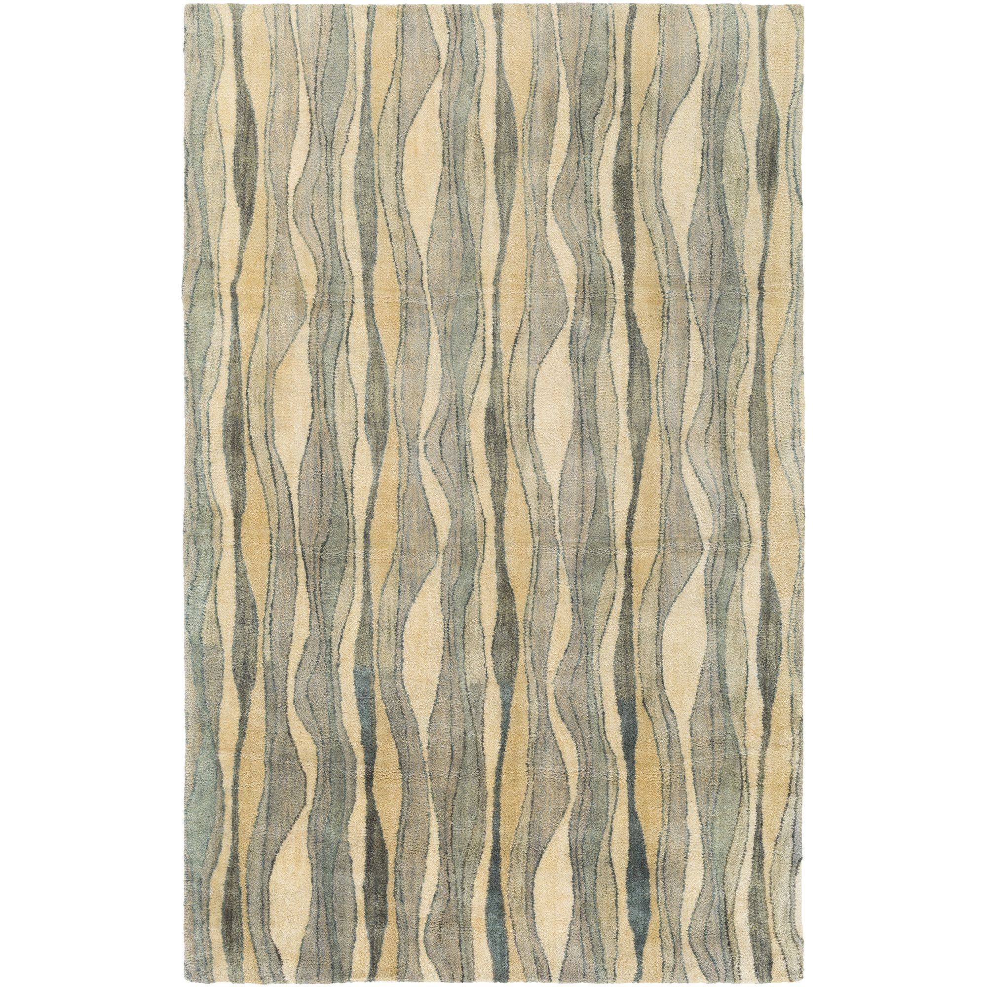 Natural Affinity Hand-Tufted Yellow/Beige Area Rug