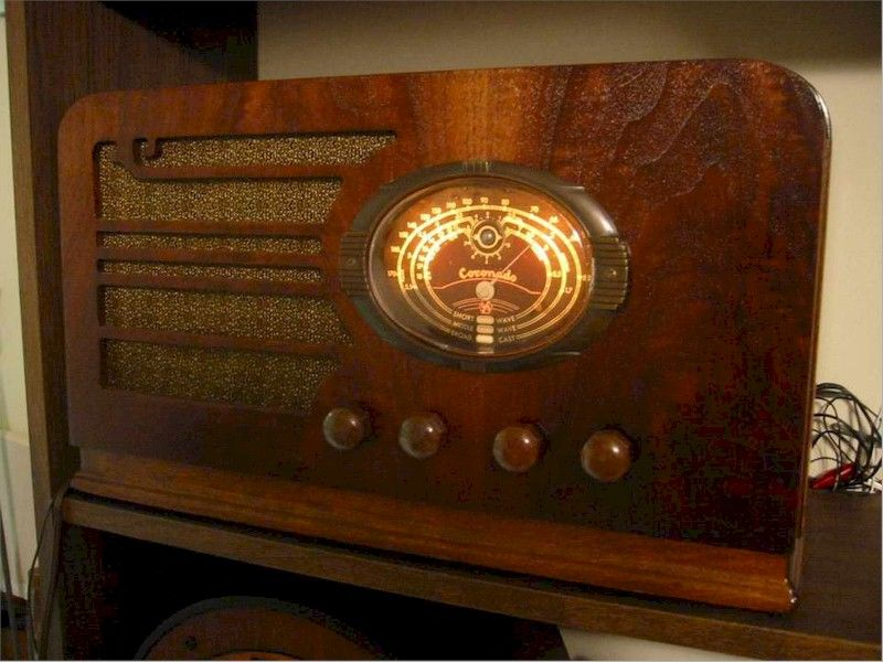 Radio Attic S Archives Coronado 686 1935 Antique Radio Retro Radios Vintage Radio
