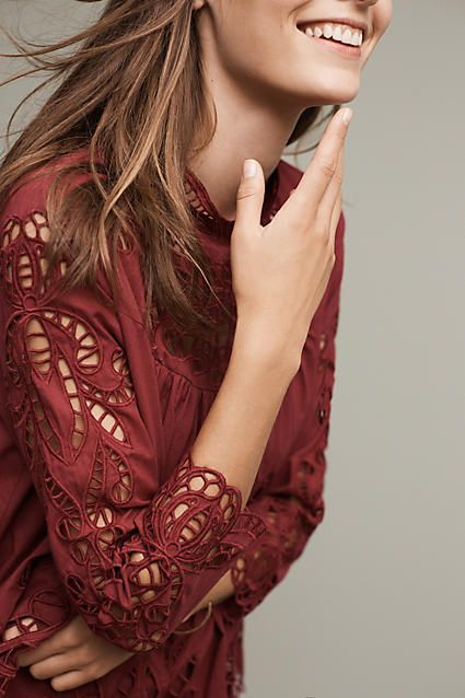 The Laced High-Neck Blouse is everything you need for the fall season for fashionable get togethers and flawless outfits.