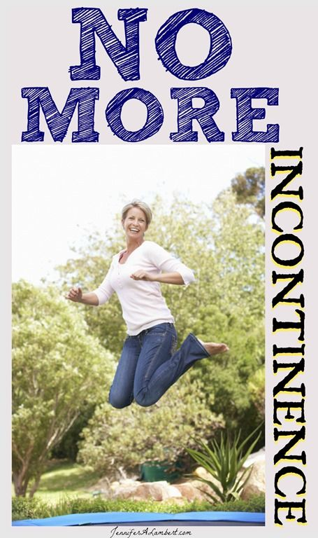 No More Incontinence   Rebounding, Exercise, Young living oils