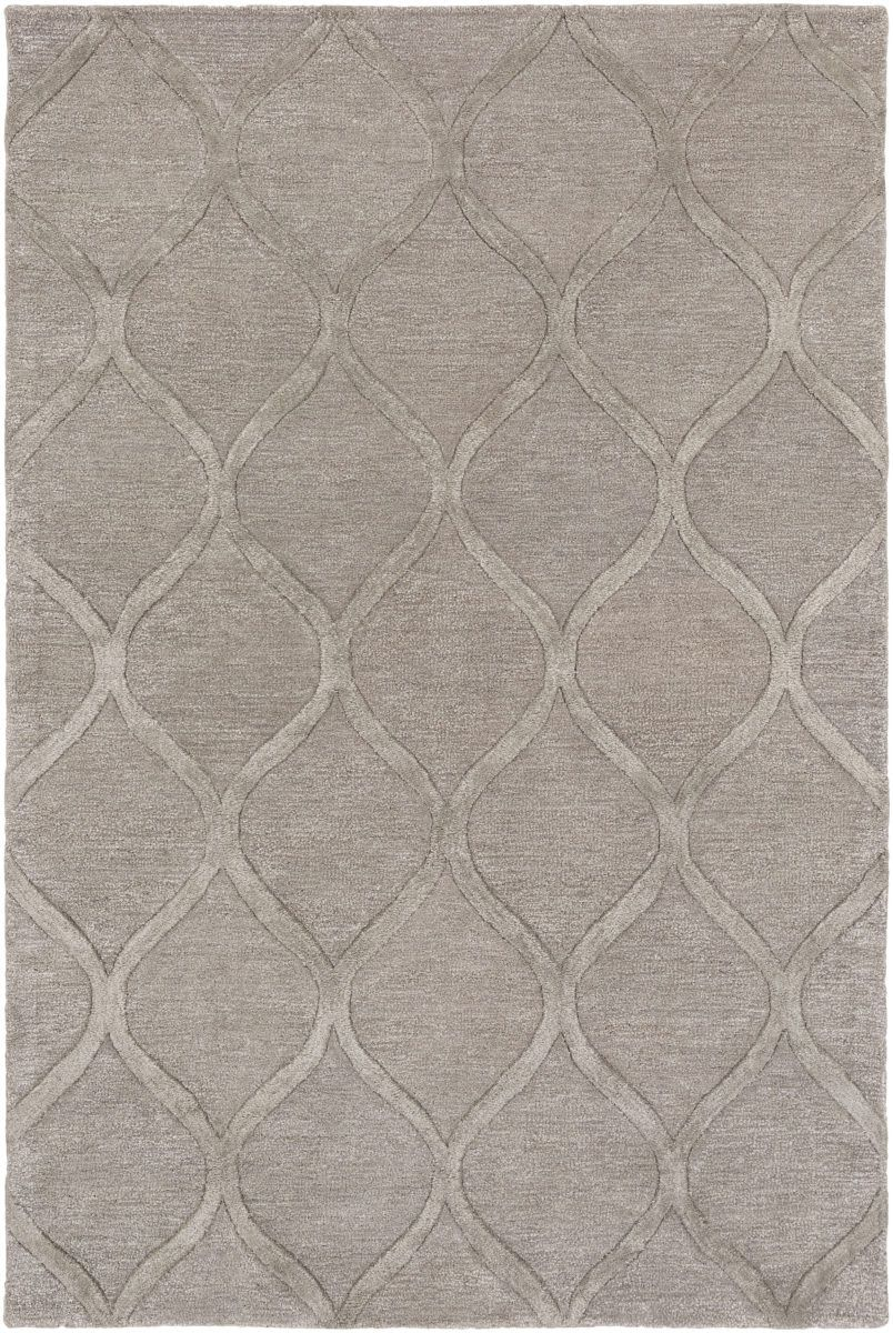 Urban Cidy Gray Metallic Area Rug