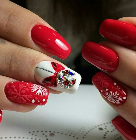 59 christmas nail art ideas for early 2020  nails design