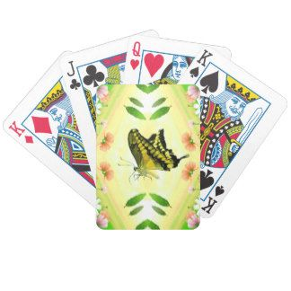 Summer Lover Butterfly Poker Cards