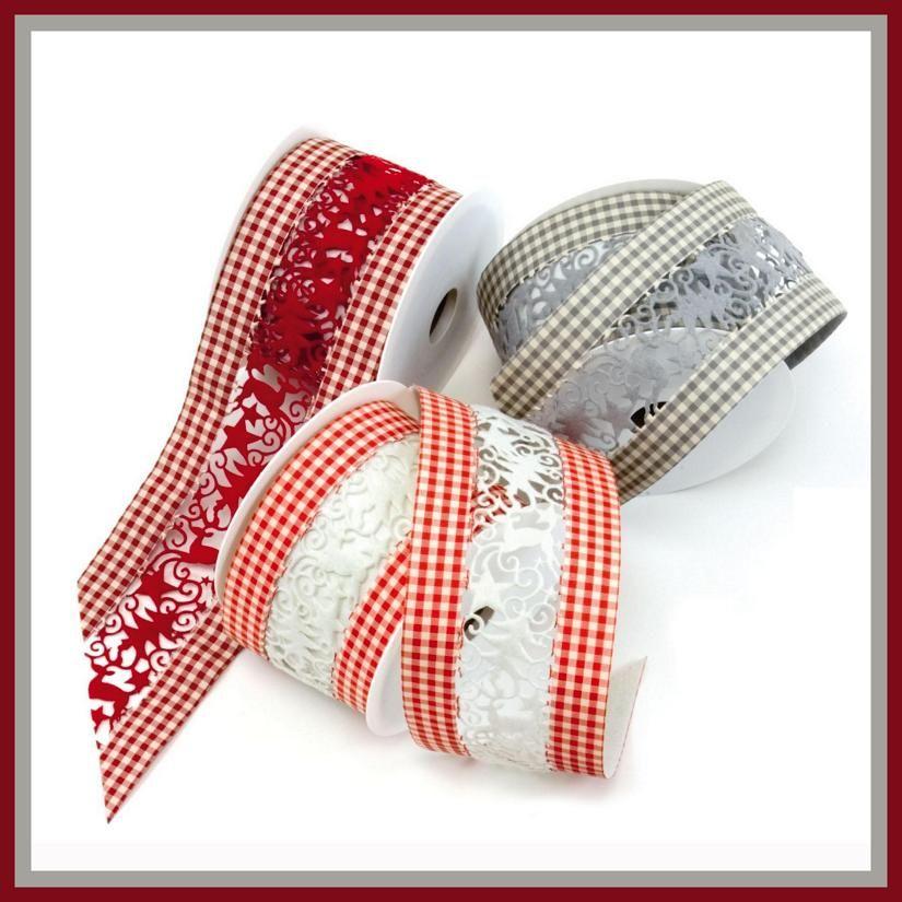 elegantes cintas para navidad la combinacin perfecta se trata de una cinta textil