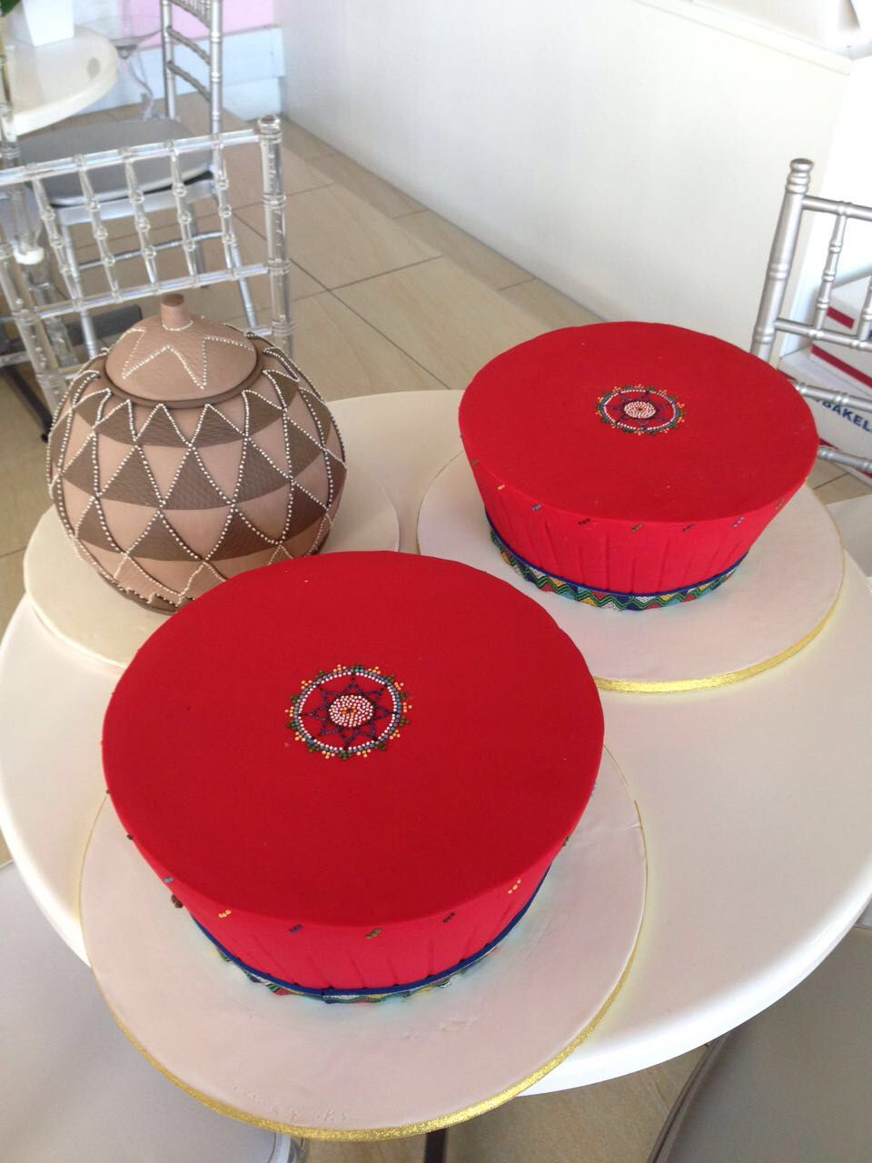 African traditional wedding decor  Pin by Lindiwe Zulu on African Weddings  Pinterest  Cake