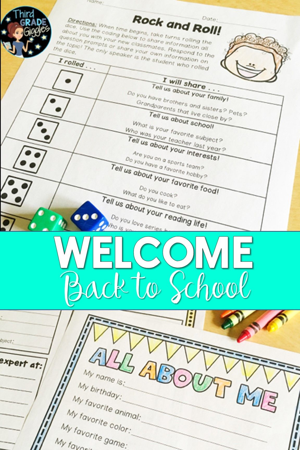 Welcome Your Students Back To School With These Getting To