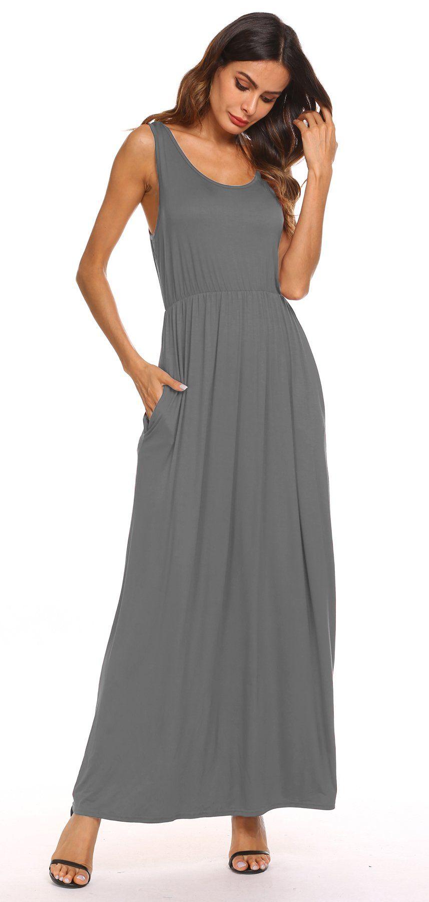 Flowy Plus Size Maternity Dress