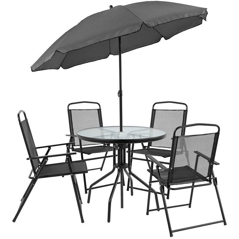 9zaqbxyya8xlym Patio dining sets with umbrella