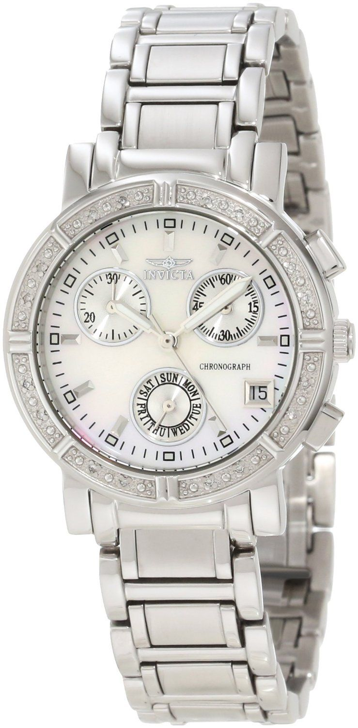 Invicta Women's 4718 II Collection Limited Edition Diamond Chronograph  Watch > Price: $99.00 > FREE One-Day Shipping & Free Returns > You Save:  86% ...