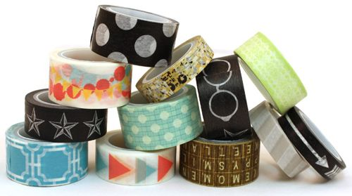 My Minds Eye Record It Washi Tapes.  ONLY $7.99 at www.peachycheap.com!