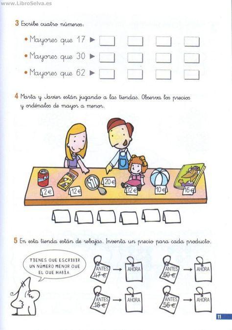 110 problemas de matematicas pdf primer grado | Problemas ...