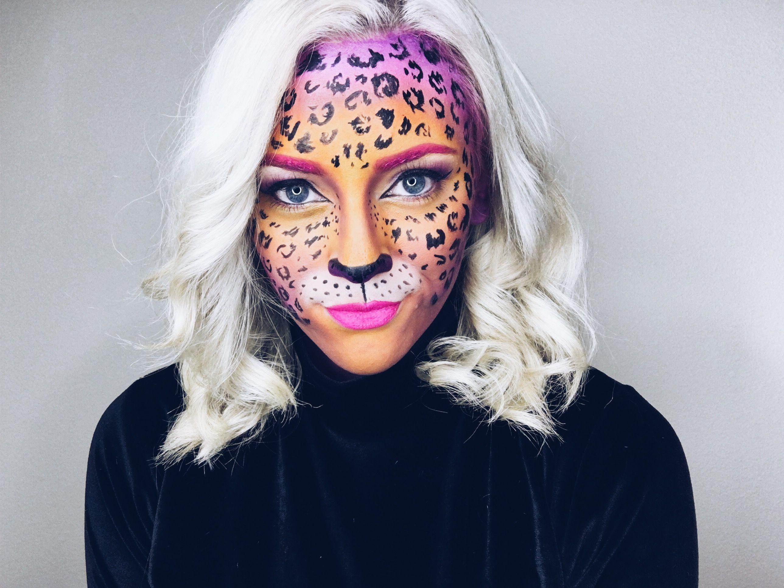 Lisa Frank Leopard Makeup @alexxelder | Makeup | Pinterest ...