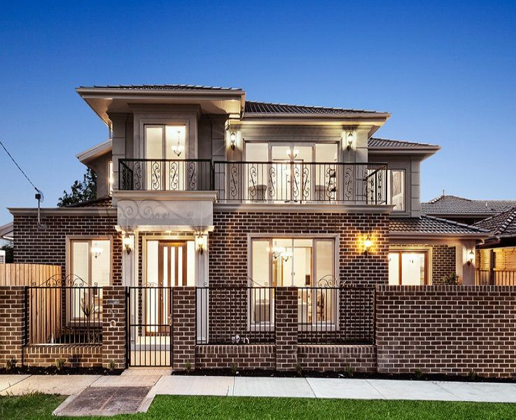 modern house facade hct pinterest maison fa ade maison et plan maison. Black Bedroom Furniture Sets. Home Design Ideas