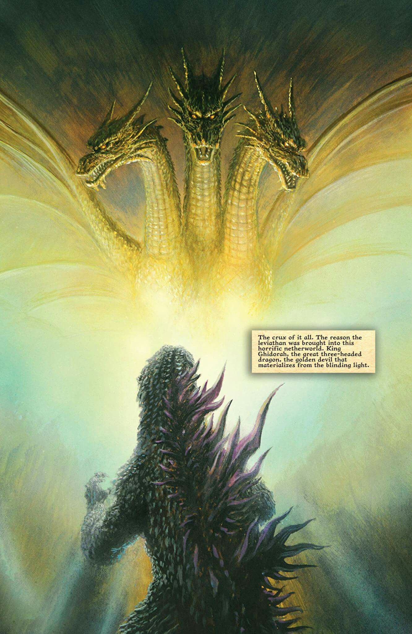 Godzilla vs king ghidorah godzilla kaiju monsters kong
