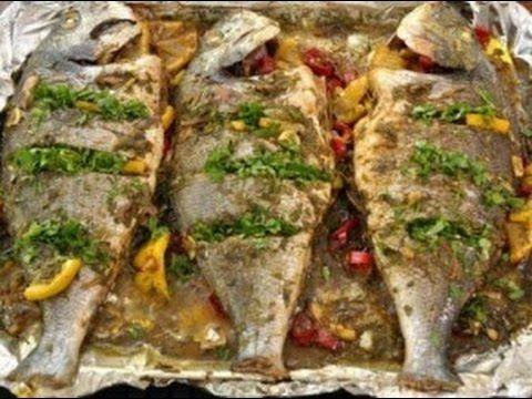 طريقة عمل صينية سمك البلطي بالفرن Egyptian Food How To Cook Fish Oven Baked Fish