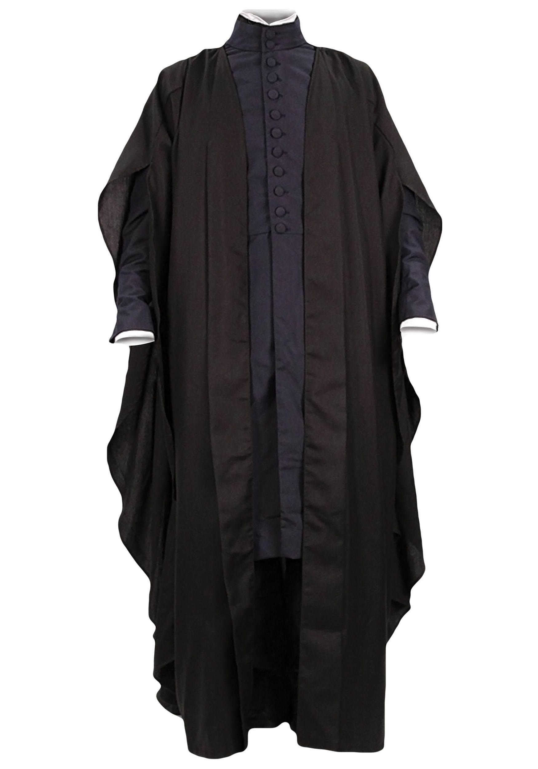 Harry Potter Halloween Severus Snape Cosplay Outfit Black Cape Costumes Carnival