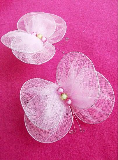 Nylon manualidades diy mariposas para decorar nylon pinterest - Mariposas para decorar ...