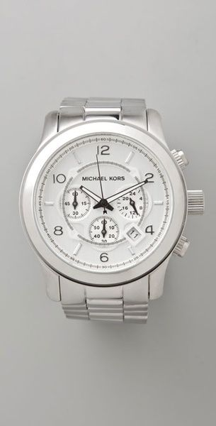 1e10f8166 Women's Metallic Mens Oversized Watch | Got To Have It | Michael ...