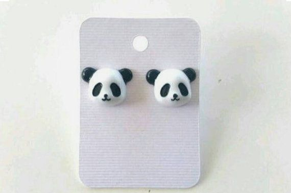Check out this item in my Etsy shop https://www.etsy.com/listing/293372867/panda-earrings-panda-jewelry-panda  Panda earrings, panda bears, panda accessories