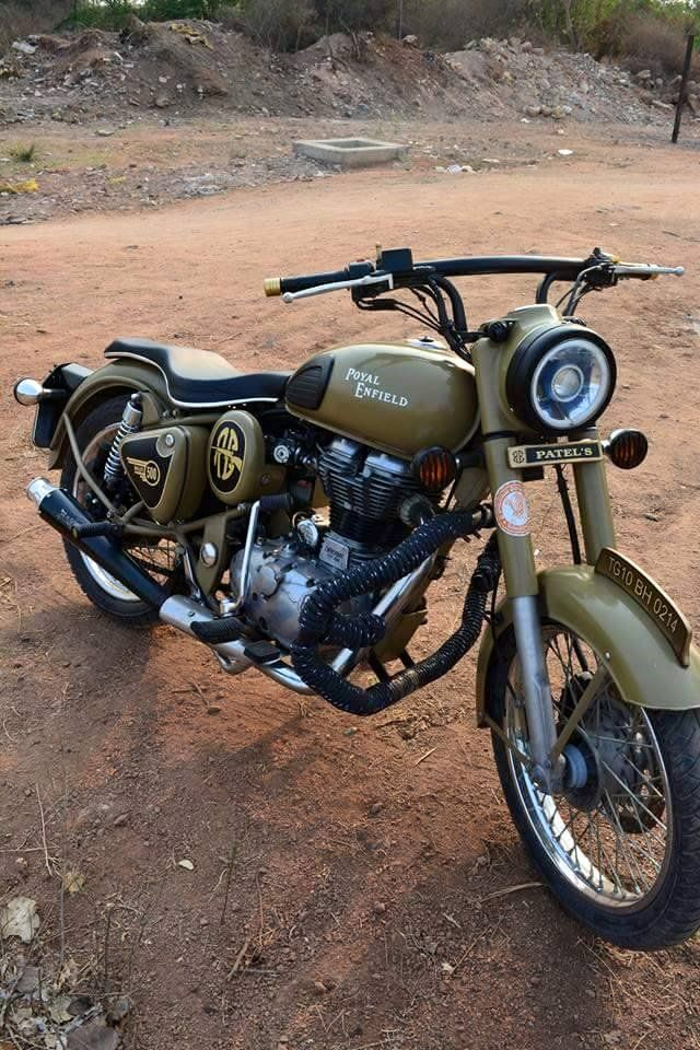 Modified Royal Enfield Desert Storm 500 Bullet Bullet Bike Royal Enfield Royal Enfield Classic 350 Royal Enfield