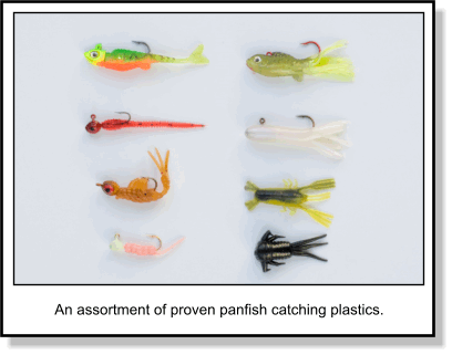 20 COUNT GLOW CRAPPIE-PANFISH/_ SOFT PLASTIC JIGS Ice Wedge