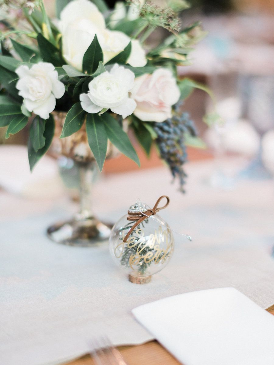 This Sporty Celebration is Rife With Holiday Spirit | Place setting ...