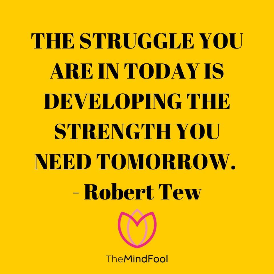 What doesn't kill you makes you stronger! Your struggles of the present are the helping hands to make you strong for tomorrow. . . . . . #motivation #fitness #inspiration #lifestyle #success #motivationalquotes #life #goals #quotes #health #healthy