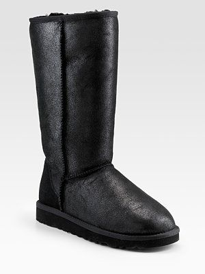 d5db32c8349 UGG Australia Classic Leather Tall Bomber Boots | Shoes | Uggs, Ugg ...