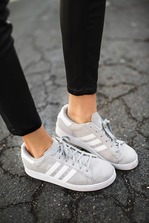 adidas original superstar womens grey