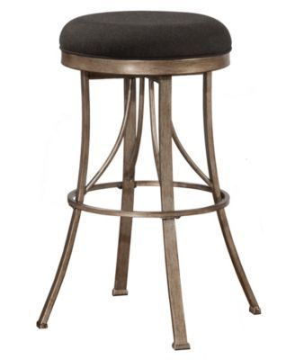 Remarkable Indoor Outdoor Bishop Backless Swivel Counter Stool Black Unemploymentrelief Wooden Chair Designs For Living Room Unemploymentrelieforg