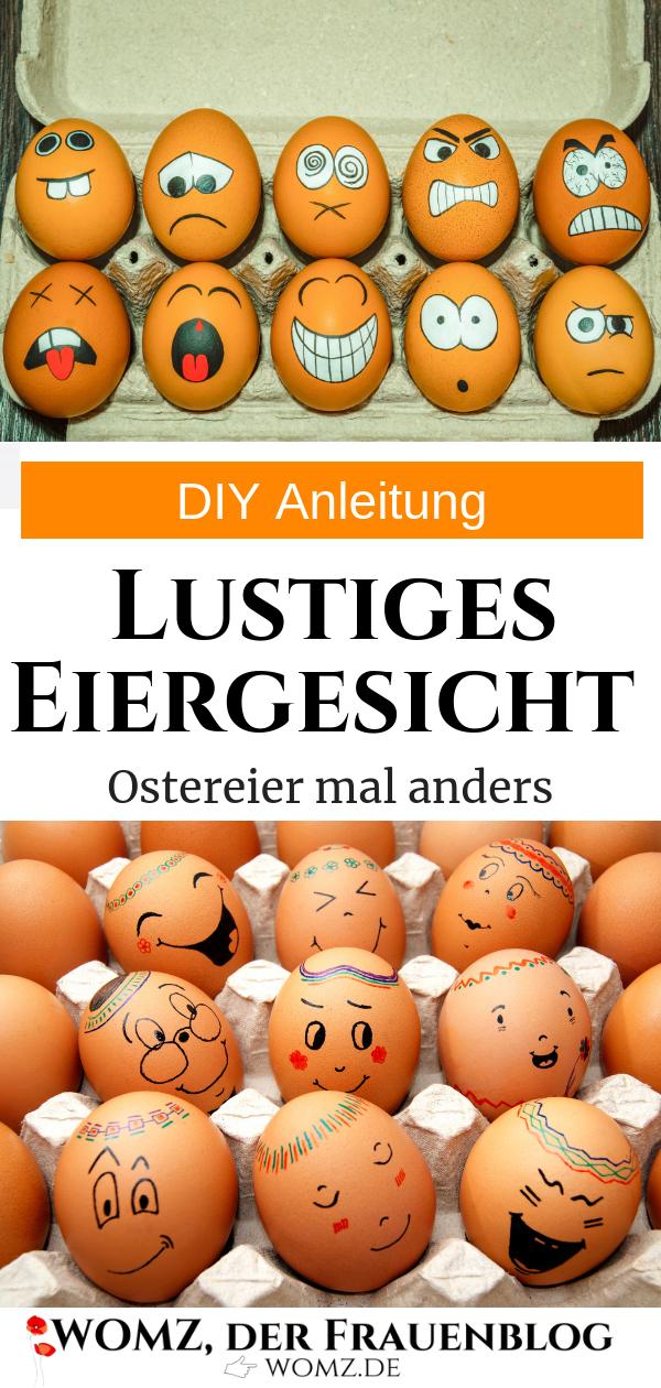 Anleitung DIY Ostereier bemalen statt Eierfärben