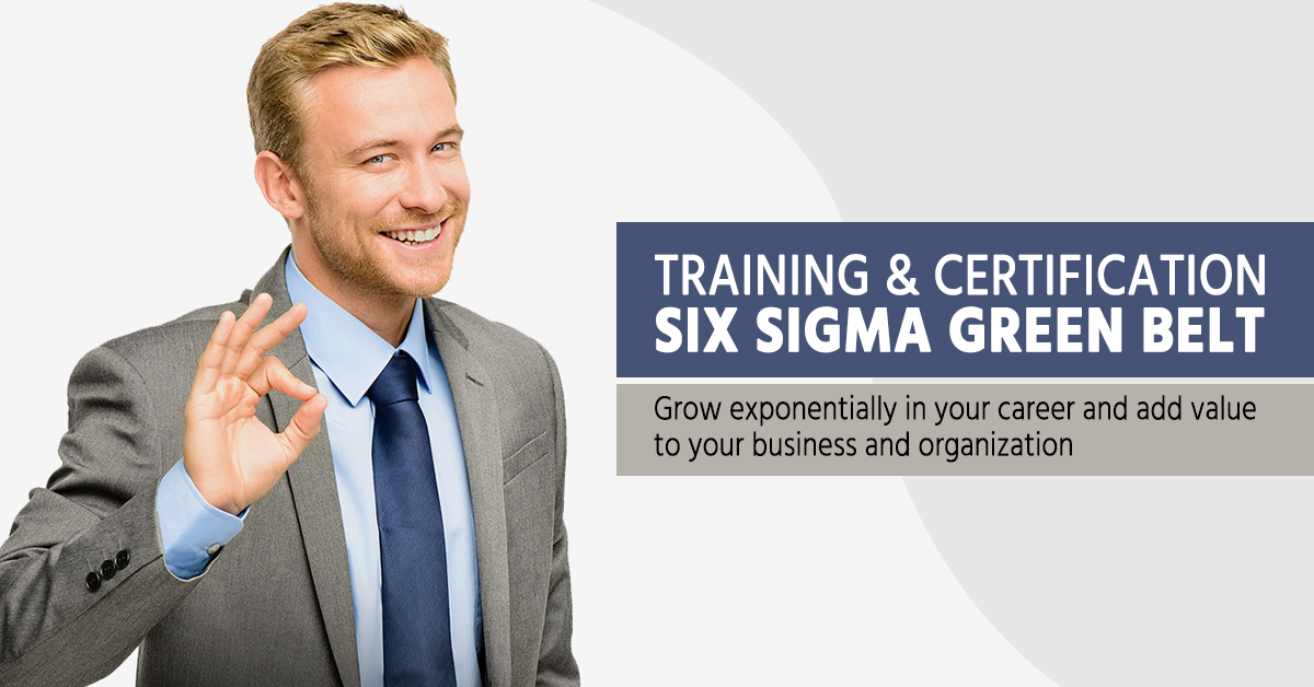 Six Sigma Green Belt Certification Makes You Ambitious News And