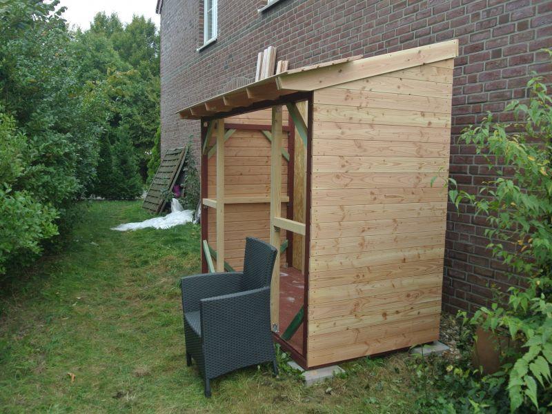 verzichtet Gartenhaus bauen, Bauanleitung, Bau